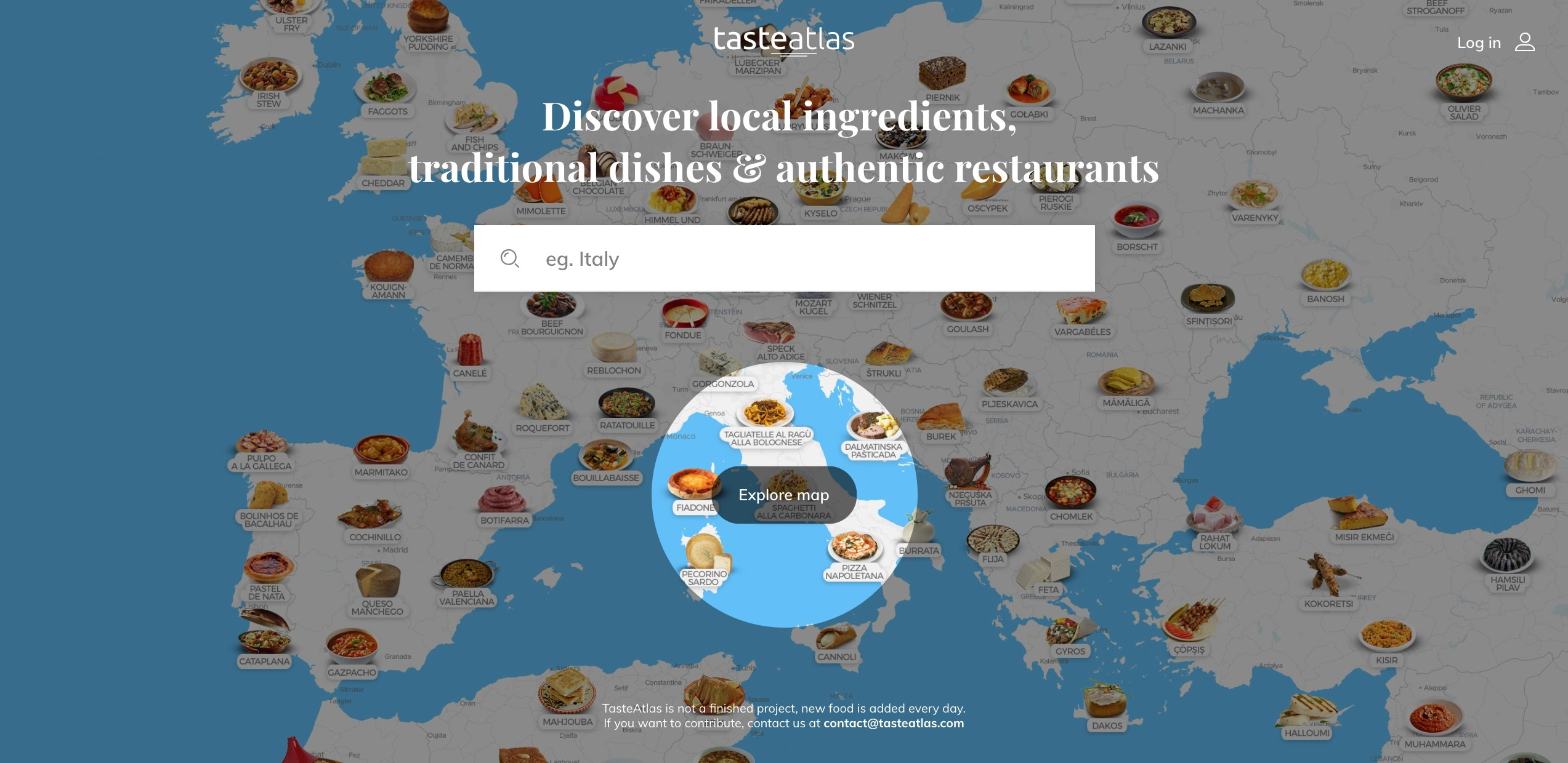 What and Where to Eat in the World?