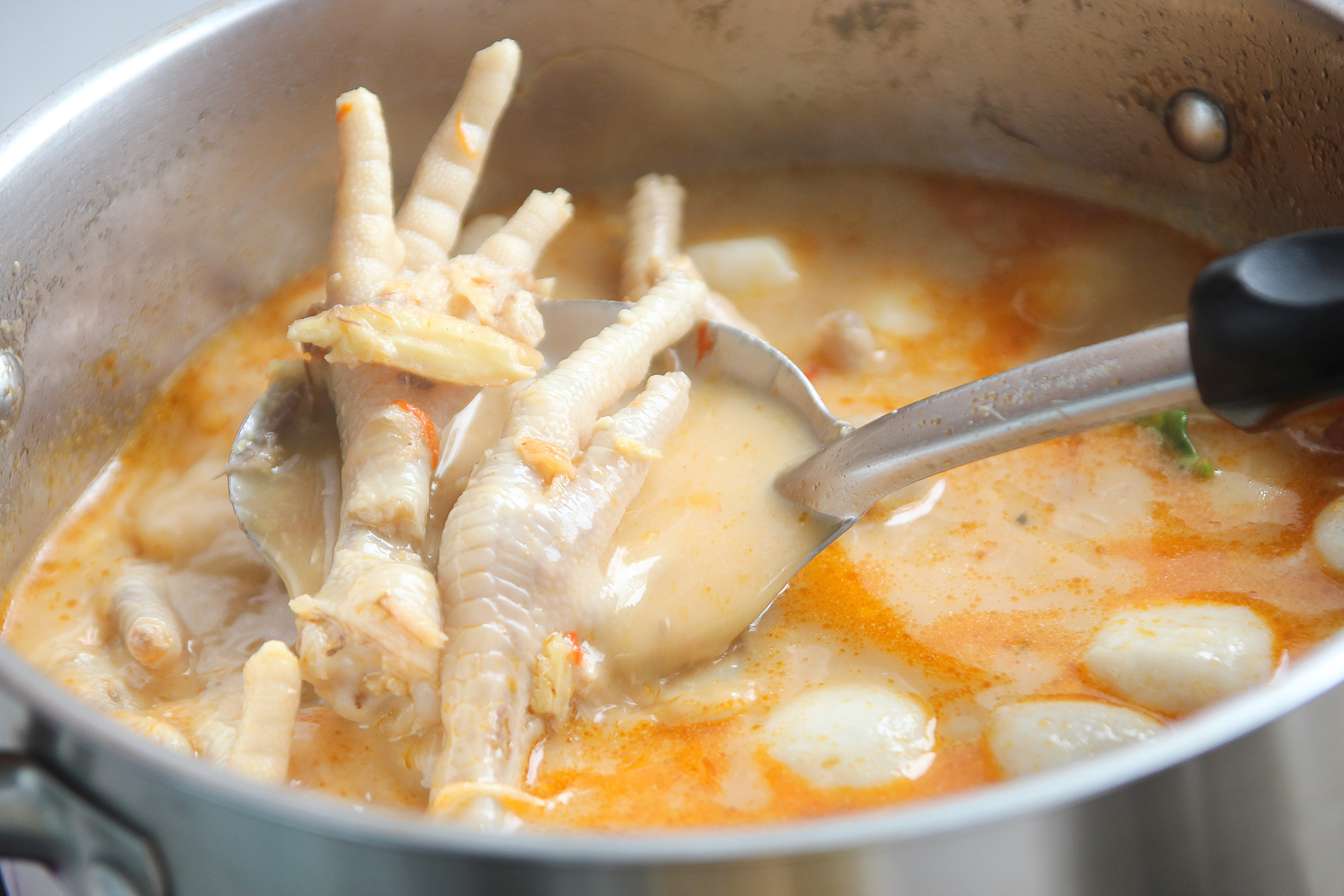 Chicken Foot Soup Traditional Chicken Soup From Jamaica Caribbean